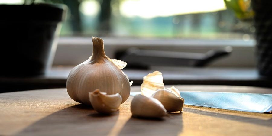 Products Reviews Garlic On A Table